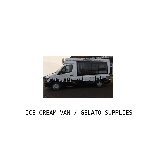 Ice Cream Van / Gelato Supplies