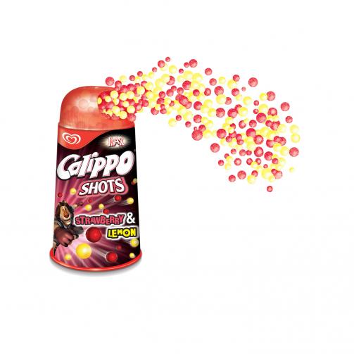 Calippo Shots Strawberry & Lemon