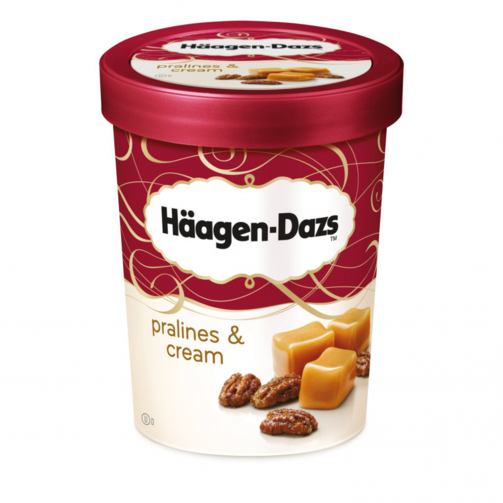 Haagen Dazs ice cream tubs wholesale supply