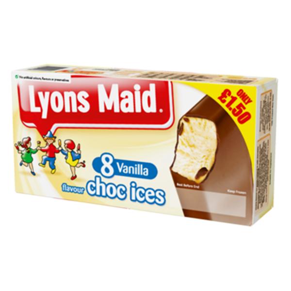Lyons Maid Vanilla Choc Ices