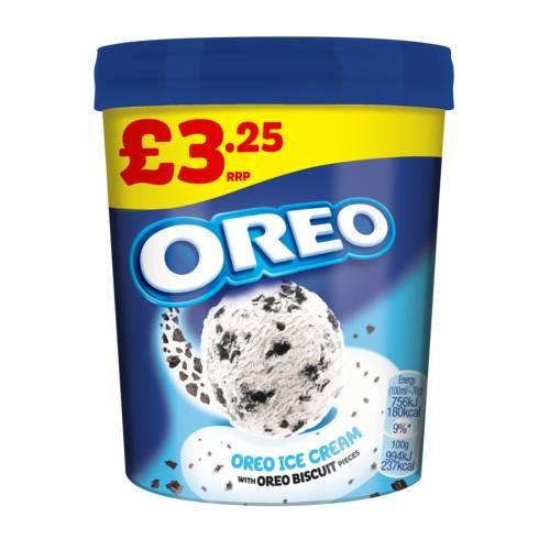 Oreo Ice Cream Tub