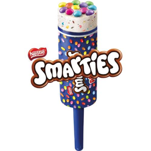 Smarties Push Up Lolly