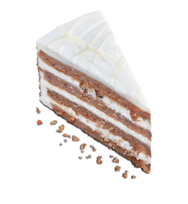 Four layer Carrot Cake from Perfectly Baked