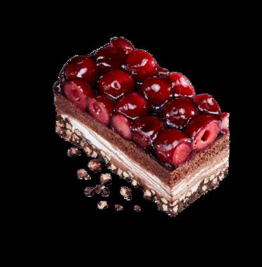 Perfectly Baked Cherry Crisp Cake
