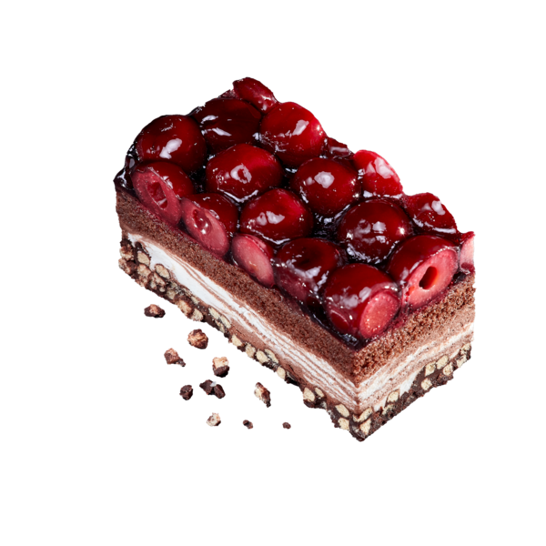 Cherry Chocholate Crisp Slice