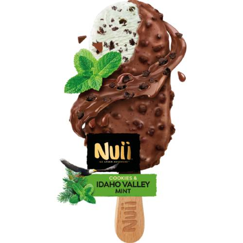 Nuii Cookies & Idaho Valley Mint Ice cream
