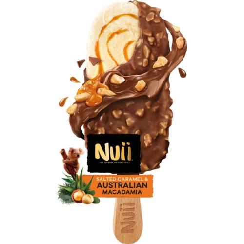 Nuii Salted Caramel Australian Macadamia