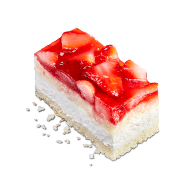 Strawberry Cream Slice from Perfectly Baked