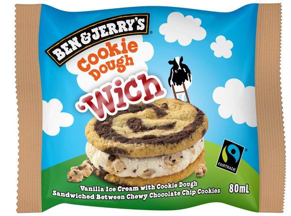 Ben & Jerry Wich Cookie Dough