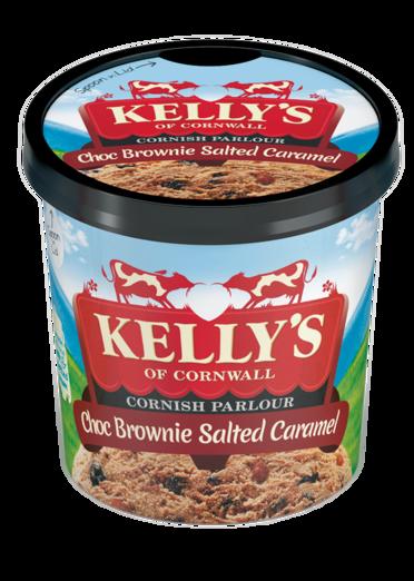 Kelly's Chocolate Brownie salted Caramel Mini Pot