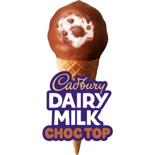 Cadbury Dairy Milk Choc Top Cone