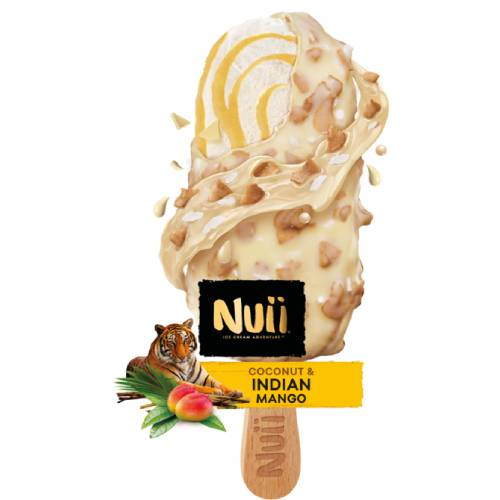 Nuii Coconut & Mango Ice Cream Stick